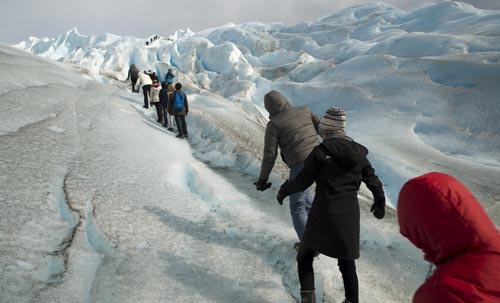 treking no Perito Moreno