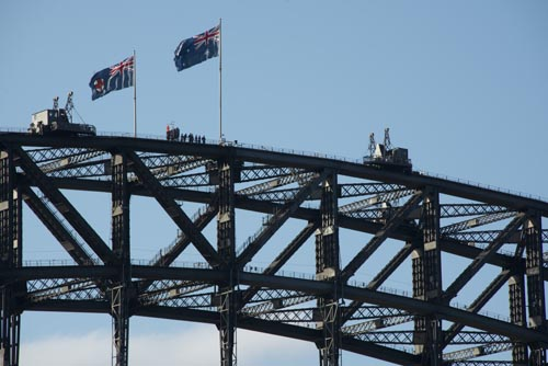 Escalada na Sydney Harbour Bridge